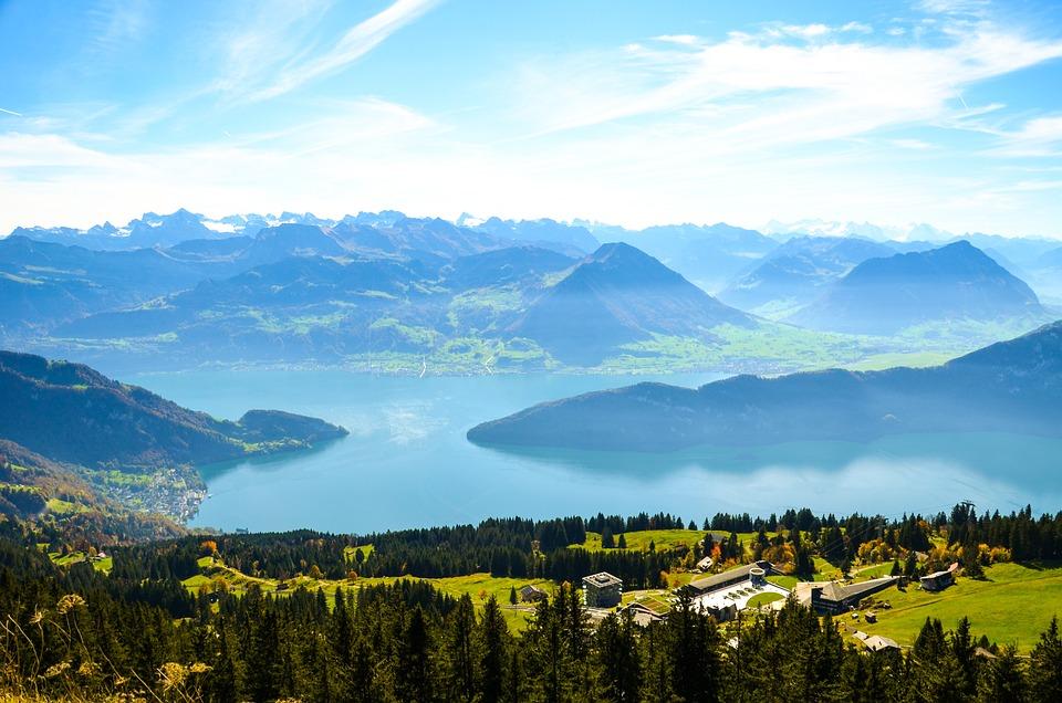Alpesi, Rigi, Rigi Kaltbad, Vierwaldstätti Tó Régió