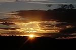 sunset, horizon, twilight