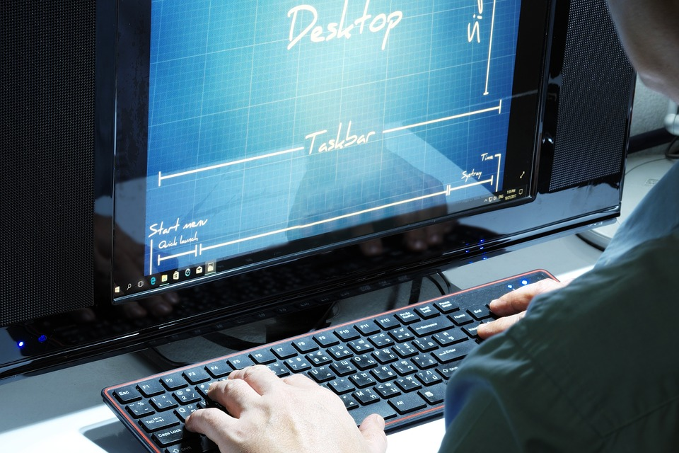 Working, Computer, Programer, Desk, Pc, Arms, Hand