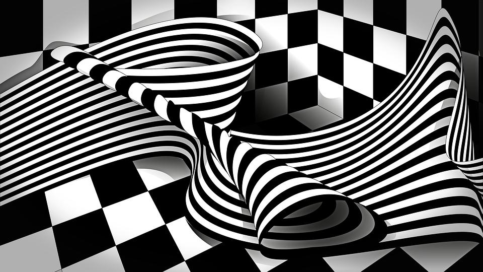 Op Art Black White \u00b7 Free image on Pixabay