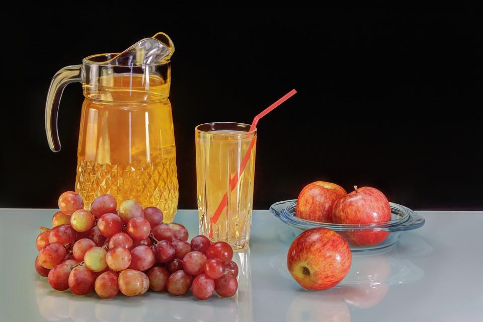 Jus Anggur, Anggur, Apple, Lezat, Selera