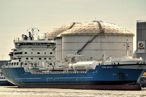 Tanker, Ship, Oil Tanker, Storage Tank