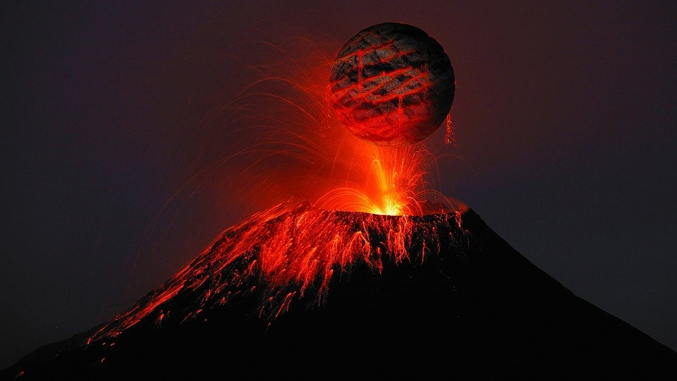 Free photo Volcano Lava Rash Free Image on Pixabay 2876292