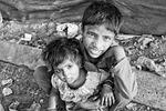 children, slums, poverty