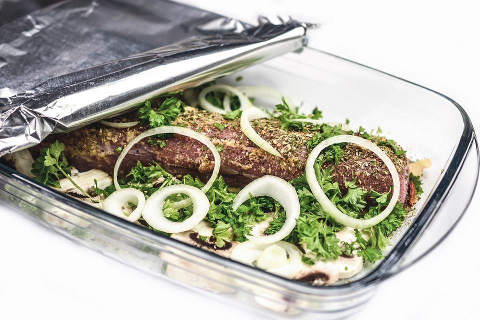 Arrosto, Cena, A Base Di Carne, Preparare, Cipolla