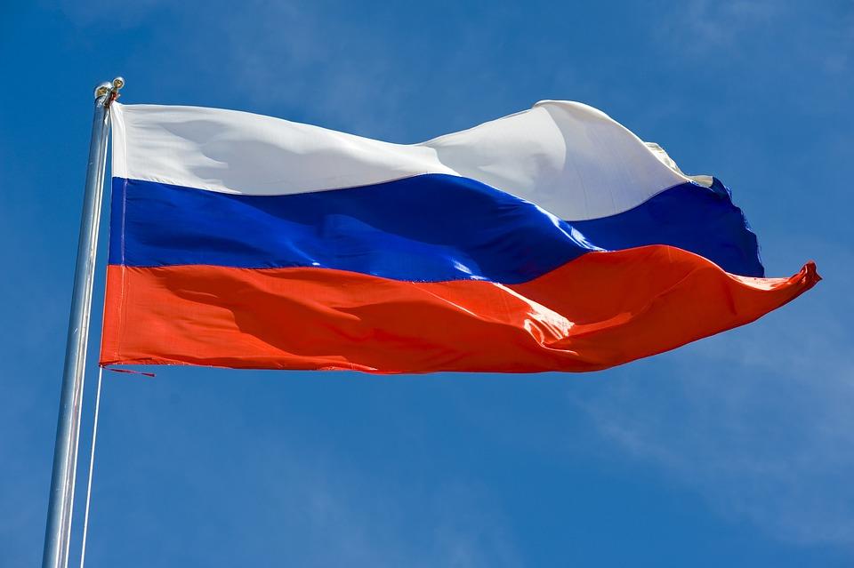 El Palo De La Bandera, Rusia, Bandera Estatal
