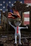 usa, trump, flag