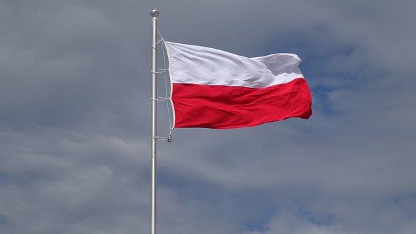 Flaga, Polska, Maszt, Flaga Polski