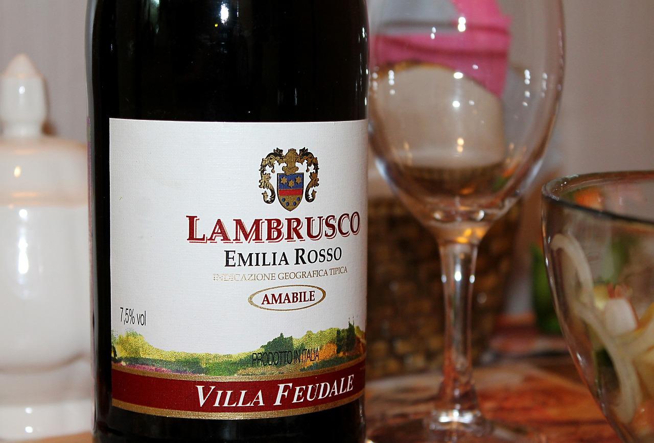 Картинка вино ламбруско