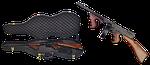 thompson submachine gun, case, firearms