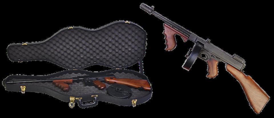 thompson submachine gun case free photo on pixabay