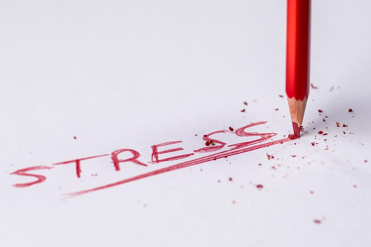 鉛筆, 赤, チップ, 書きます, 描画, 言, 単語, 神経質な, ストレス, 絵画, 色鉛筆