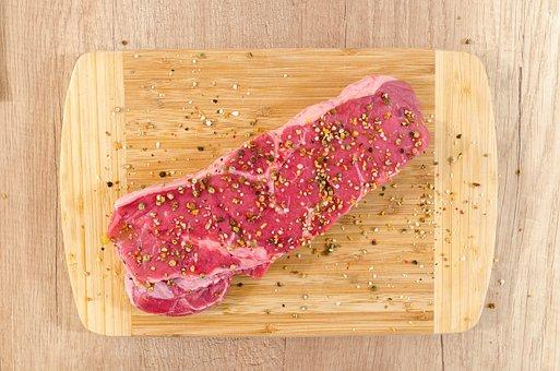 Carne, Madera, Carne De Vacuno, Filete