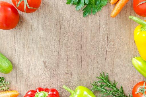 Table, Wood, Fresh, Organic, Healthy