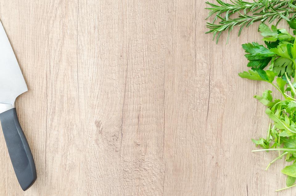 fantastic wood table food background 9