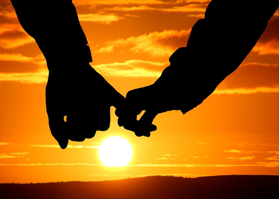 Pair Sunset Mood Free Photo On Pixabay