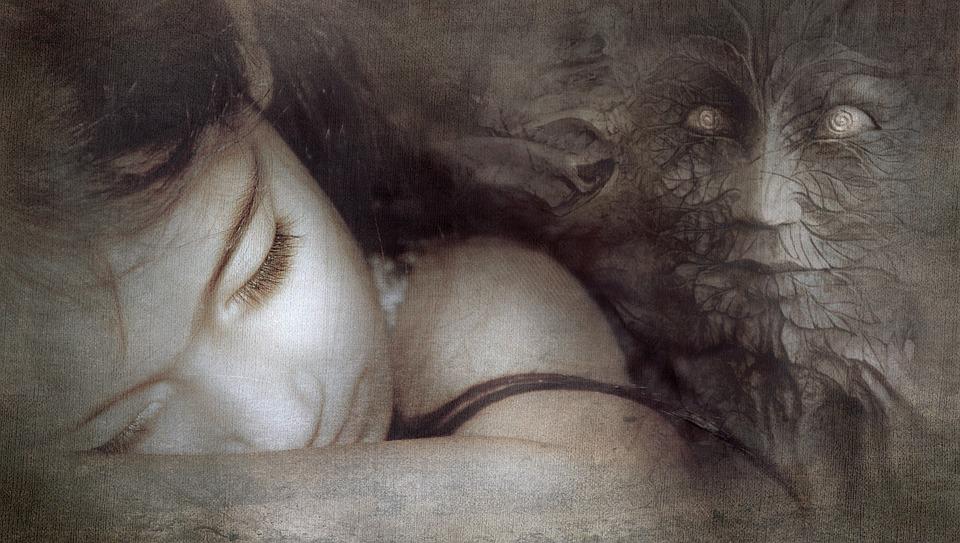 Fantasie, Meisje, Slaap, Masker, Mystiek, Sprookjes
