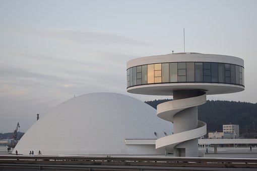 Vista Centro Niemeyer Avilés