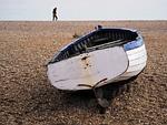 boat, beach, shingle