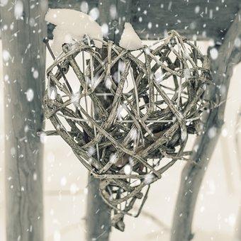 Corazón, Invierno, La Nieve, Valla