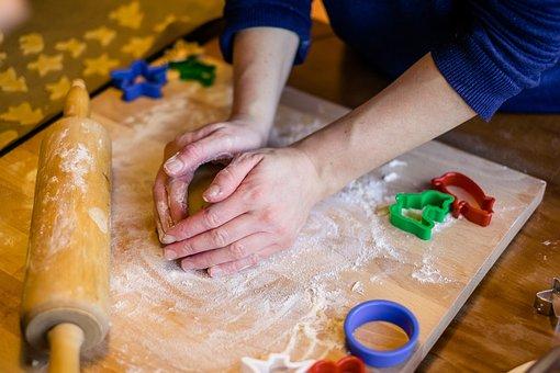 Bake, Cookie, Christmas Cookies
