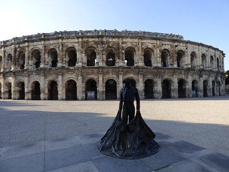 Amphitheater, Bullring, Arena, Roman