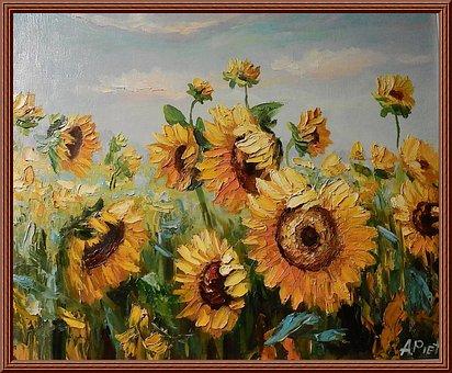 80 Gambar Lukisan Bunga Matahari Bunga Matahari Gratis Pixabay