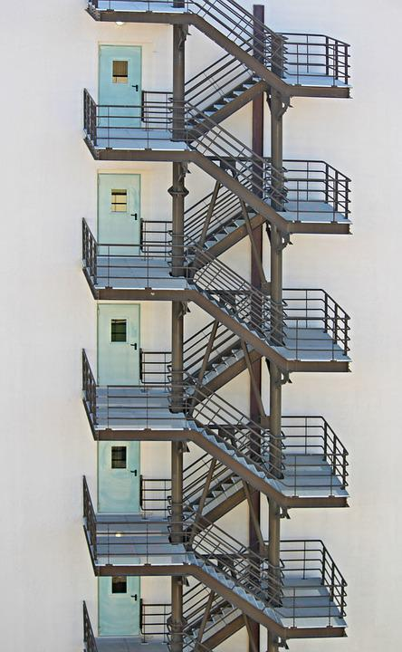 Free Photo Fire Escape Emergency Exits Free Image On