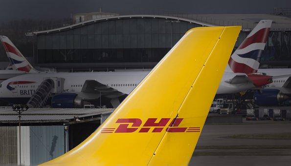 Dhl, Fracht, Fluggesellschaft, Flugzeug