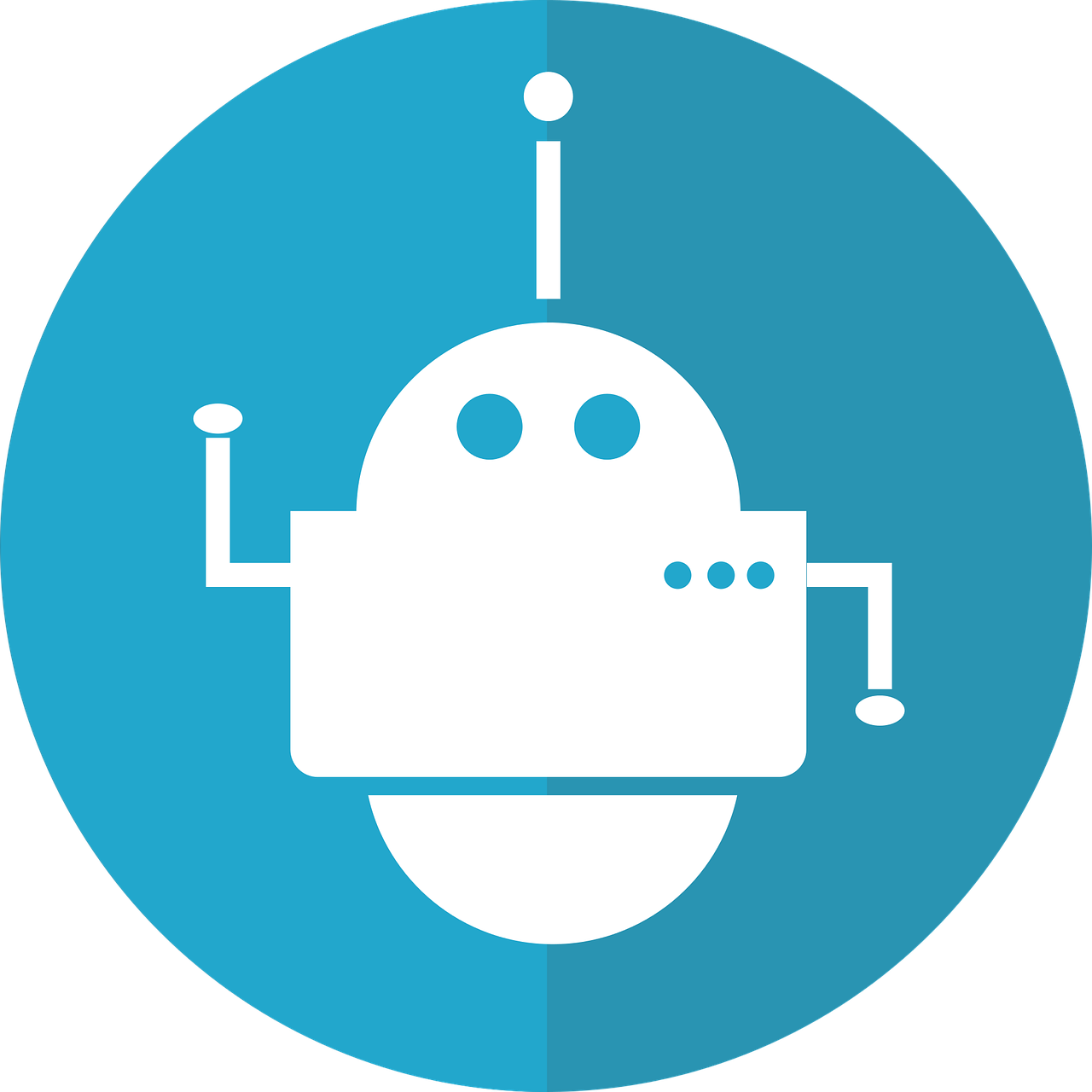 Bot Icon Robot Automated - Free vector graphic on Pixabay