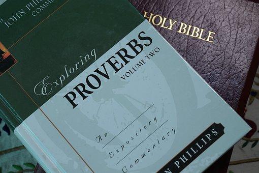 聖書, ことわざ, キリスト教, 開いた本, 神聖な, 光