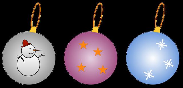 Free illustration christmas balls christmas free image - Weihnachtskugeln transparent ...