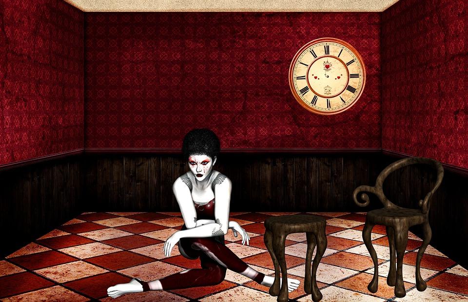 Frau Zimmer Rot Kostenloses Bild Auf Pixabay