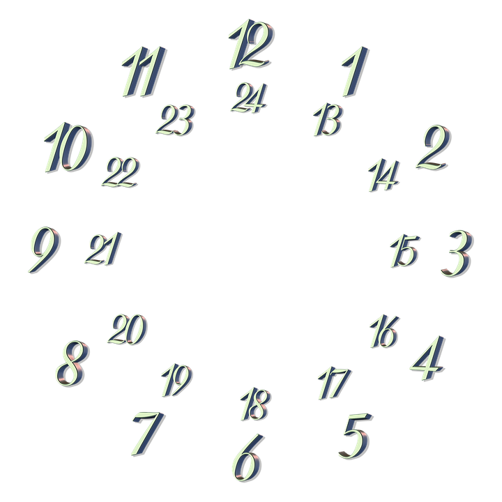 clock face dial 24 · free image on pixabay
