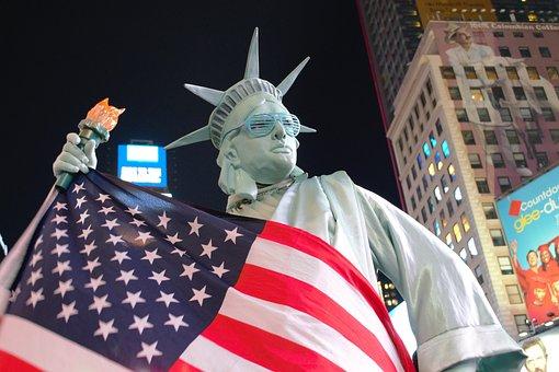 アメリカ合衆国, アメリカの国旗, 自由の女神, 衣装, ハロウィーン