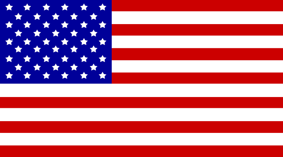 Usa, Flag, Stars And Stripes, American, National, Red