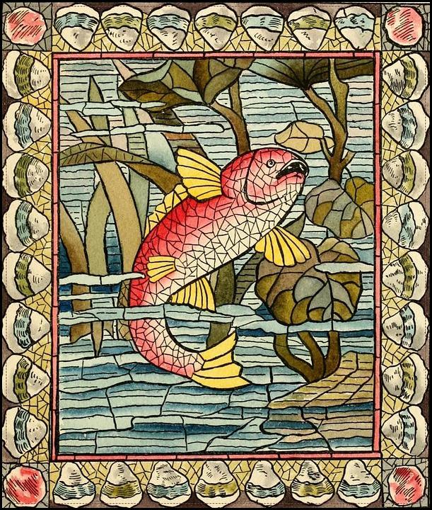Ikan Bawah Air Kubisme Foto Gratis Di Pixabay