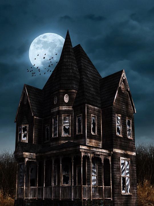 halloween bates hotel gruslehaus horror creepy