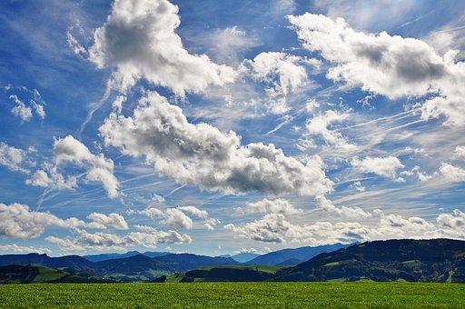 Wolken, Wolkenbild, Himmel, Stimmung
