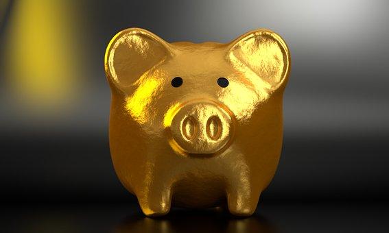 貯金箱, 銀行, お金, ファイナンス, ビジネス, 通貨, 現金, 豚, 投資