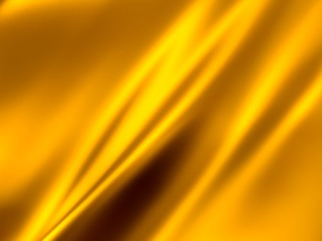 Gold, Waving, Abstract, Background