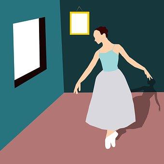 Ballet Dancer, Ballet, Old-Fashioned