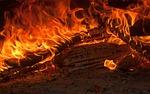 fire, flames, fireplace