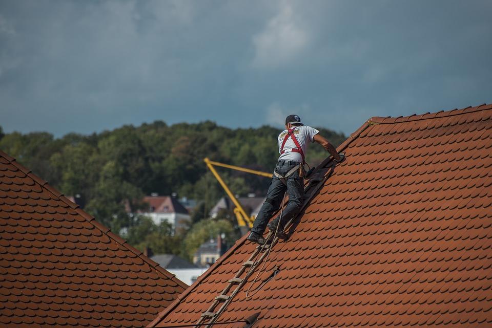 屋根葺き職人, 屋根, 屋根ふき, 工芸品, 屋上, 修理, 破風, タイル