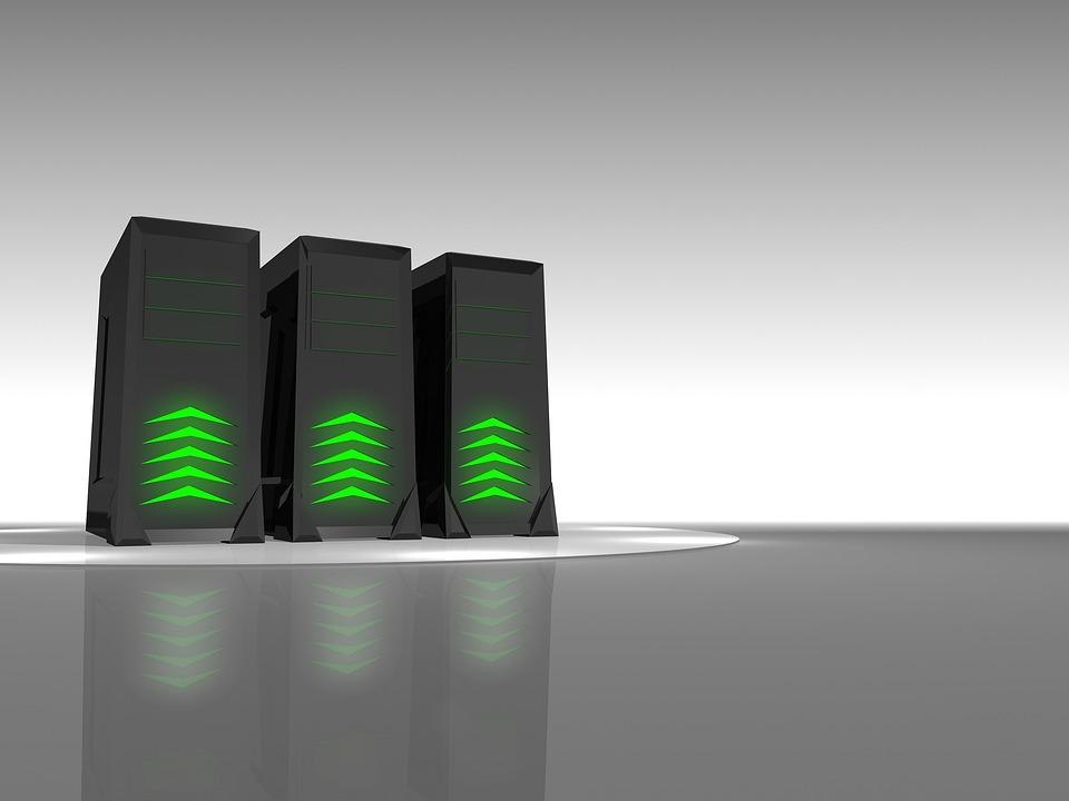 Servere blir ofte representert slik som i bildet.