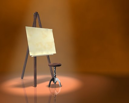 Painting, Easel, Artist, Drawing