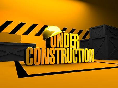 Under, Construction, Site, Build, Work