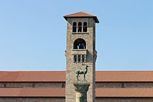 Evangelismos, Church, Steeple