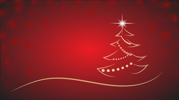 christmas christmas tree background