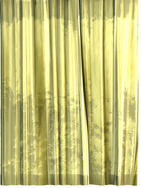 curtain window decoration store transmitted light